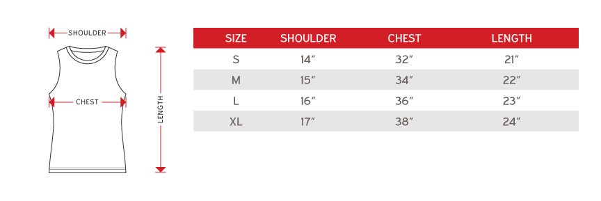 cross runner female size chart